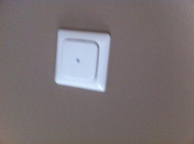 Blende der Lautsprecher-Dose für die Wand-Boxen