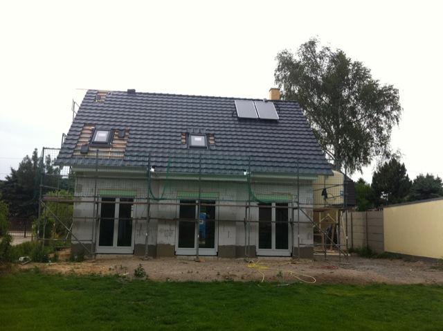 Das Dach beim Decken