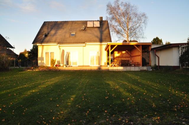 Haus im Sonnenschein