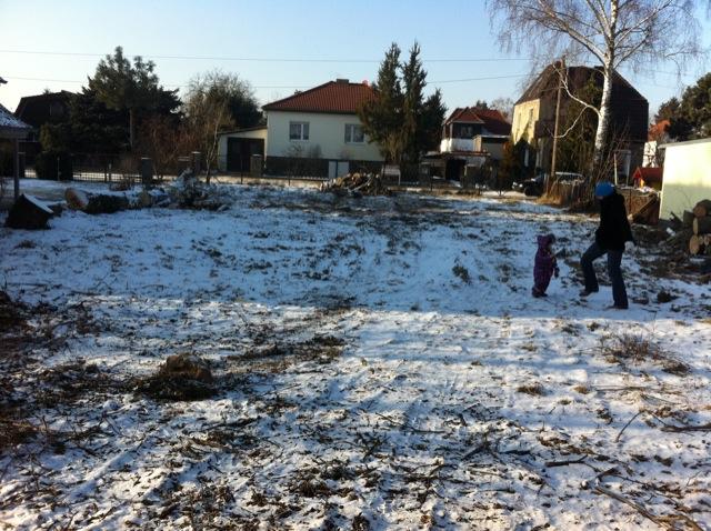 Grundstück ist nach dem Abriss nun frei