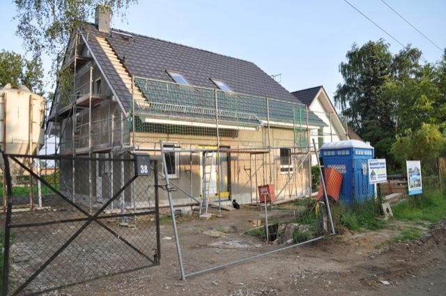 Ein neues Haus entsteht
