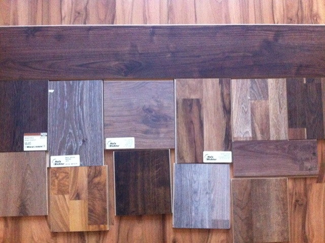 Die Auswahl des richtigen Laminat: Muster, Beispiele & Proben