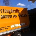 Großer Einkauf? Transporter mieten bei Hornbach