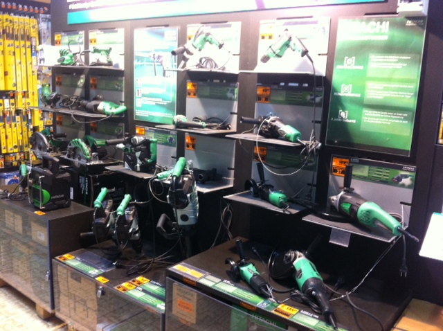 Große Auswahl von Hitachi im Baumarkt