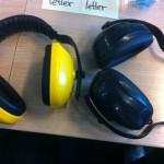 Kopfhörer für den Geräuschschutz