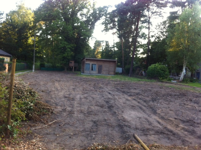 Das letzte freie Baugrundstück in Neuenhagen?