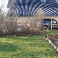 Sichtschutzzaun aus Holz: Sichtschutzwand als Gartenzaun zum Nachbargrundstück