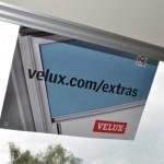 Dachfenster und Verdunklungsrollo sind von Velux