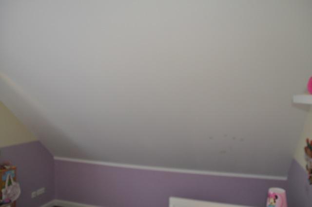 Kinderzimmer - Dachschräge ohne Fenster