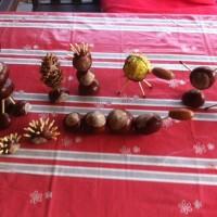 Bastelspaß im Herbst: Basteln mit Kastanien