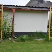 Sichtschutz-Rankgitter aus Holz für den Garten selber bauen