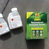Unkrautvernichter mit Langzeitwirkung für Rasen zum sprühen & spritzen