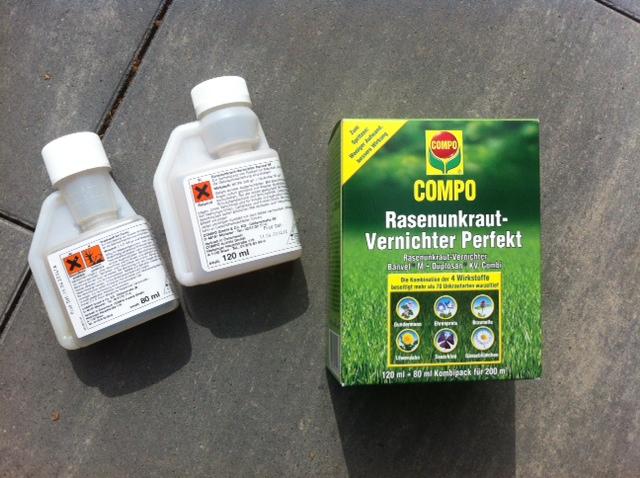 Rasenunkraut-Vernichter Pefekt von Compo zum mischen