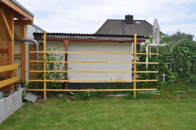 Sichtschutz Rankgitter Aus Holz Fur Den Garten Selber Bauen