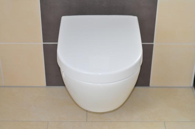 Toilette von Villeroy & Boch Subway 2.0 im Badezimmer