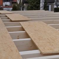 OSB-Platten beim Hausbau – Verwendung, Vorteile, Beispiele