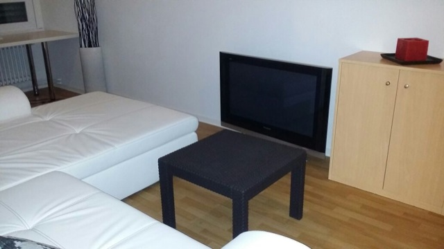 Grosses Couch & Kleines Wohnzimmer