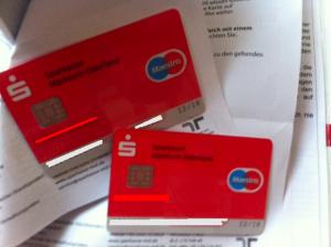 Von der Sparkassse: EC-Karten für Kinder
