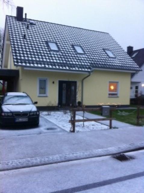 Weisse Weihnachten im eigenen Haus