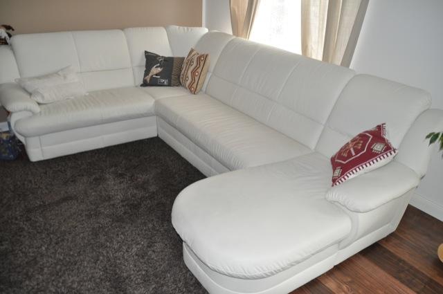 Erfahrungen mit unserer hellen Couch