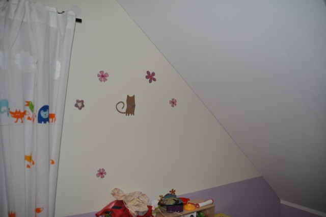 Setzriss beim Hausbau im Schlafzimmer & Kinderzimmer
