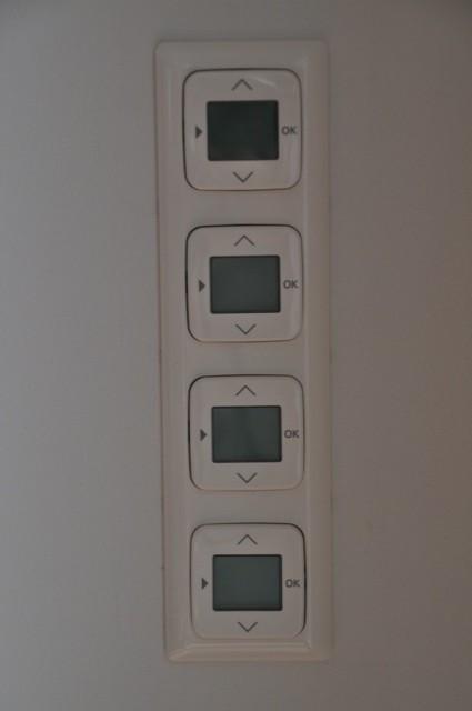 Elektrische Schalter für die Rolladen (inkl. Timer)