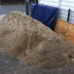 Kies / Sand- für Terrasse zum selber bauen
