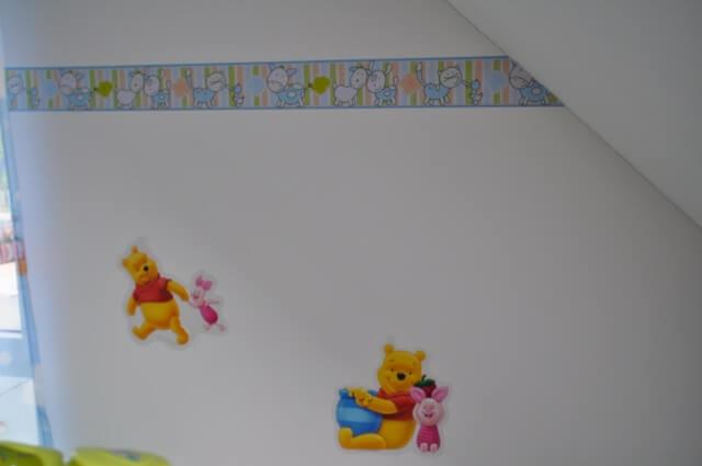 Bordüre mit Tieren im Kinderzimmer