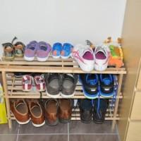 Schmaler Schuhschrank für die Wand – Ikea-Schuhregal