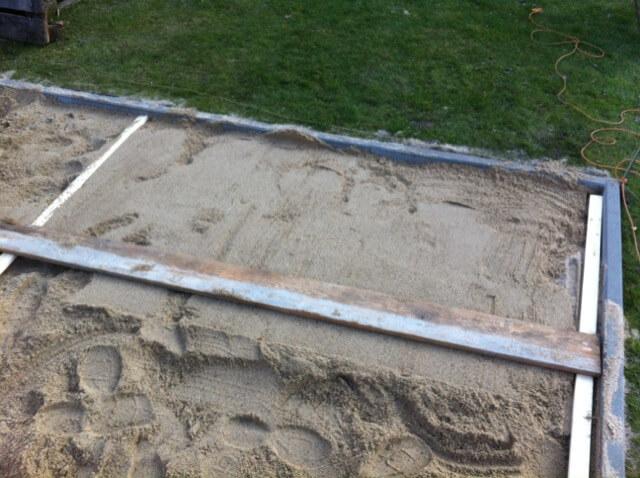 Häufig Terrasse selber bauen: Fundament erstellen | Hausbau Blog NM48