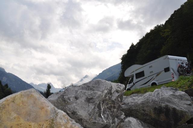 On the Road - in den Alpen