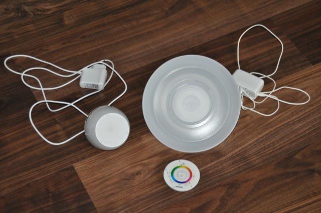 Philips Living Colors - Aura und Micro im Vergleich