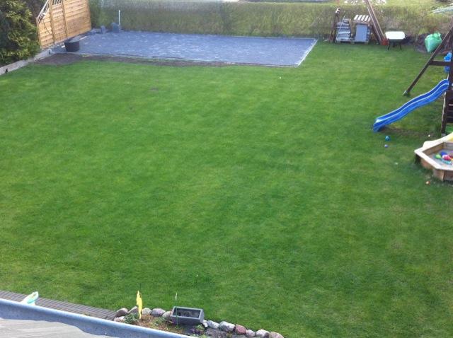 Ist nicht schwer: Gartenterrasse selber Pflastern