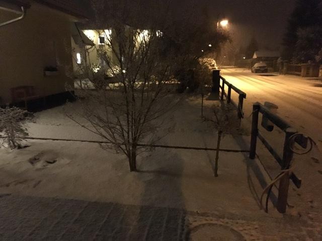 Der erste Schnee im November