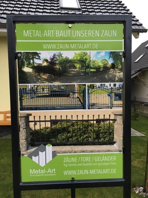 Zaunbaun durch Metal-Art-aus Polen