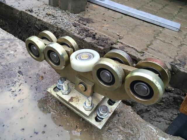 Lauf-Vorrichtung für das Rolltor