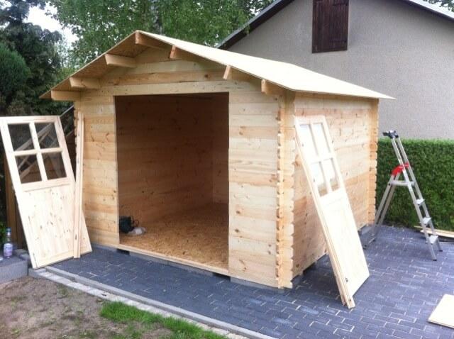 Gartenhaus - fast fertig