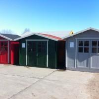Günstiges Gerätehaus für die Terrasse im Garten – Aufbau-Fotos & Kosten