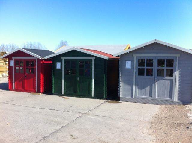 Günstiges Blockhaus als Gartenhaus bzw. Gerätehaus