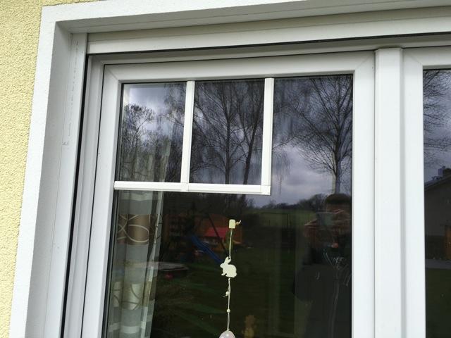 Fenstersprossen aufkleben