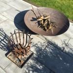 Vergleich: Feuerschale und Feuerkorb