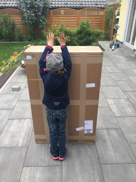 Karton-Verpackung Fatboy Hängematte