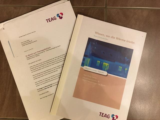 Thermocheck-Untersuchungsbericht
