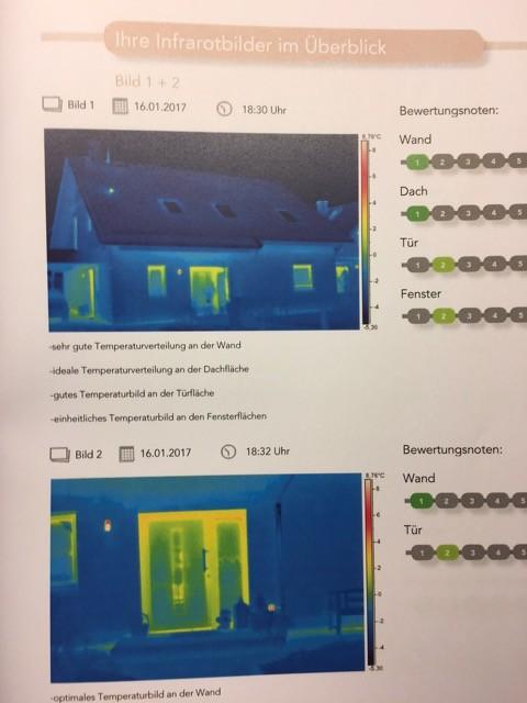 Thermocheck Untersuchung Einfamilienhaus - Fenster- und Türen