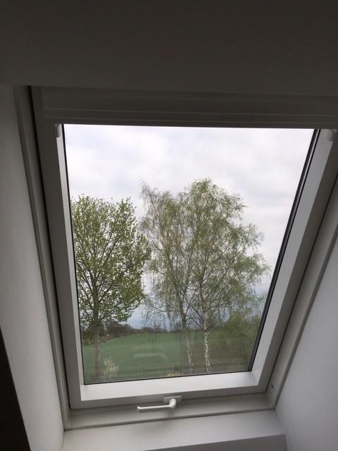 Ausgangslage unser Dachfenster