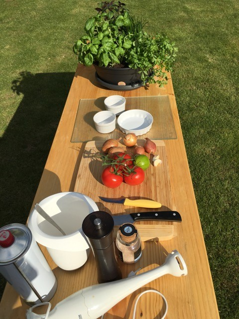 Günstige Outdoorküche für den Garten