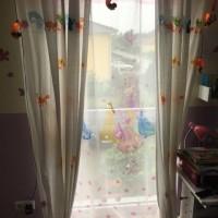 Blickdichter Sichtschutz ohne Bohren für bodentiefe Fenster