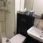 Kleines Badezimmer: Gestaltung Dusche, WC & Waschbecken