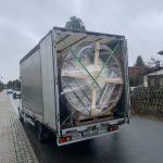 Lieferung aus Lettland: Badefass von Timberin