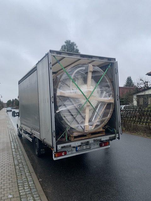 Lieferung aus Litauen: Badefass von Timberin